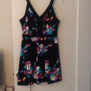 Geometric Flower Dress